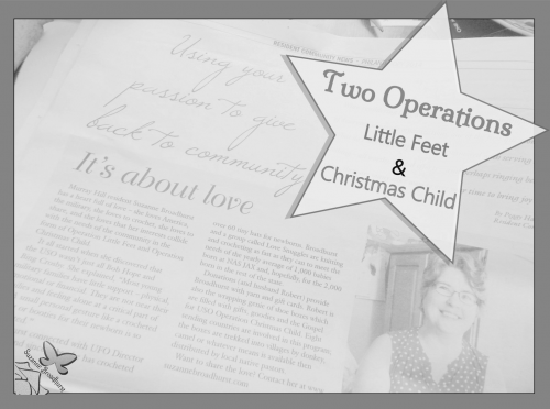 Two Operations_Little Feet and Christmas Child