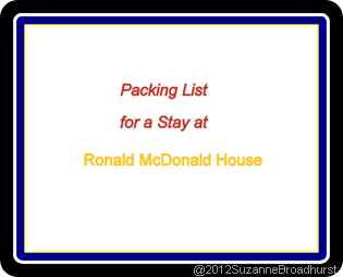 Packing List for RMH