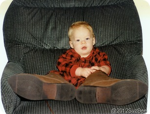 Grant Baby in Boots