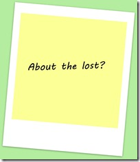 about the lost