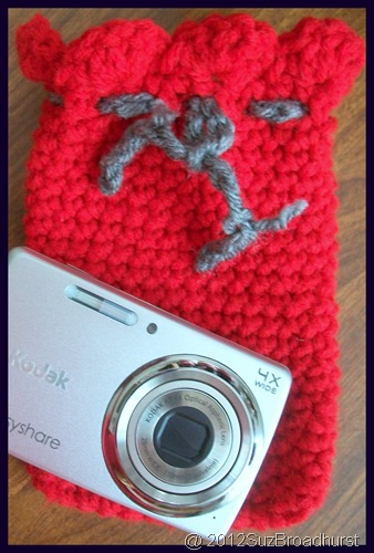 Crocheted Camera Case @SuzBroadhurst