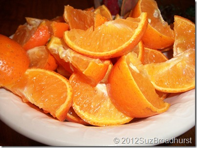 Holiday Health: Oranges @SuzBroadhurst