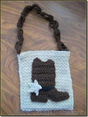 Cowboy Boot Purse @SuzBroadhurst