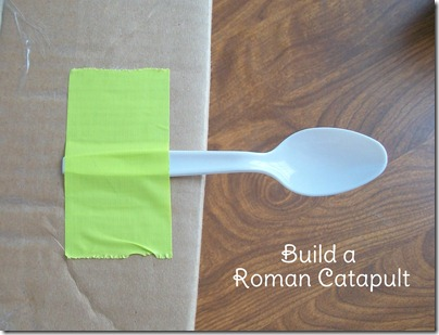 Build a Marshmallow Catapult  TIP: Use Lots of Tape @SuzBroadhurst