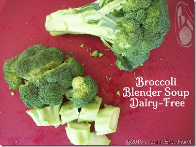 Broccoli for Blender Soup