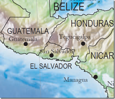 El Salvador Wonder Map
