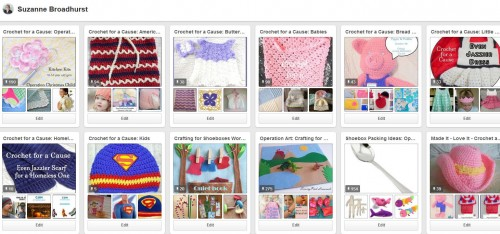 Pinterest Crochet Boards