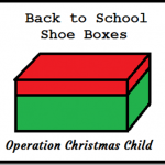 Operation Christmas Child Shoe Boxes @SuzBroadhurst