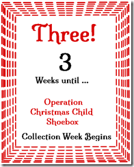 3 Weeks to Go!