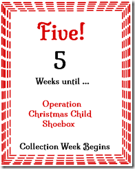 5 Weeks to Go!