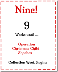 9 Weeks to Go!