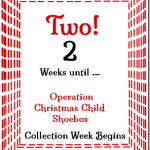 2 Weeks 'Til Shoebox Time! @SuzBroadhurst