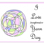 I Love Inexpensive Yarn Day @SuzBroadhurst