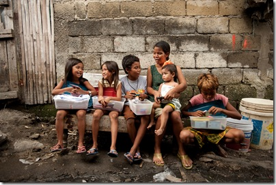 Quiet Operation Christmas Children - Philippines Flood Affected kids