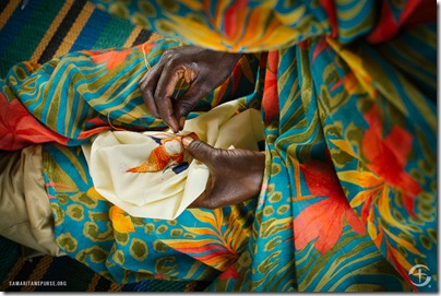 Yida's most vulnerable women learn income-generating skills, such as sewing and jewelry making.