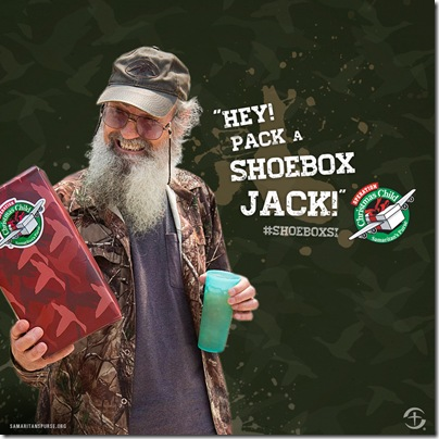Uncle Si's got style!