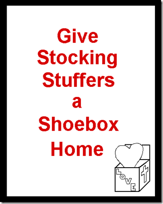 Give Stocking Stuffers a Shoebox Home