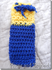 Blue and Yellow Pencil Case