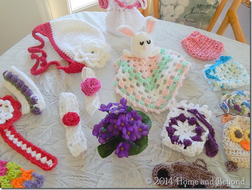 More Goodies made by Crochet Ladies of Vilano