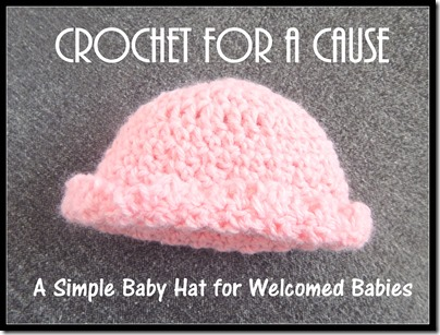 Simple Baby Hat for a Welcomed One