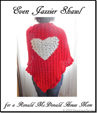 Crochet for a Cause: Even Jazzier Shawl for a Ronald McDonald House ...