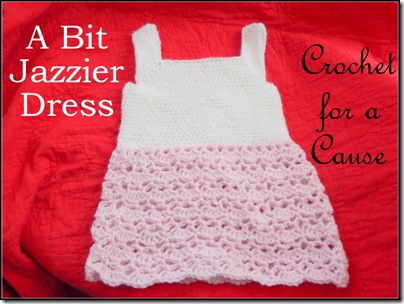 Crochet for a Cause Bit Jazzier Dress