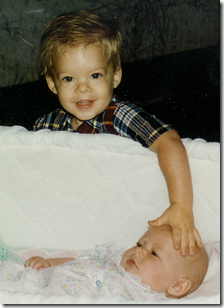 Baby and Grant