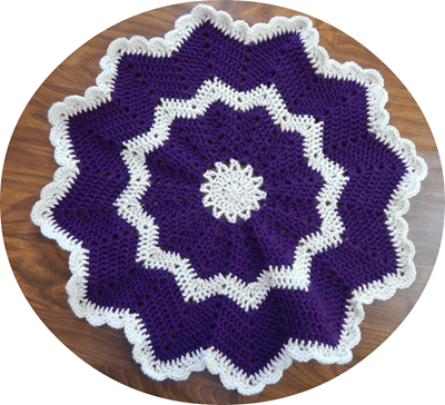 Touch of Elegance Blanket for a Butterfly Baby