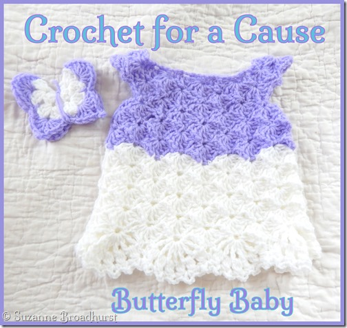 Crochet for a Cause_Butterfly Baby
