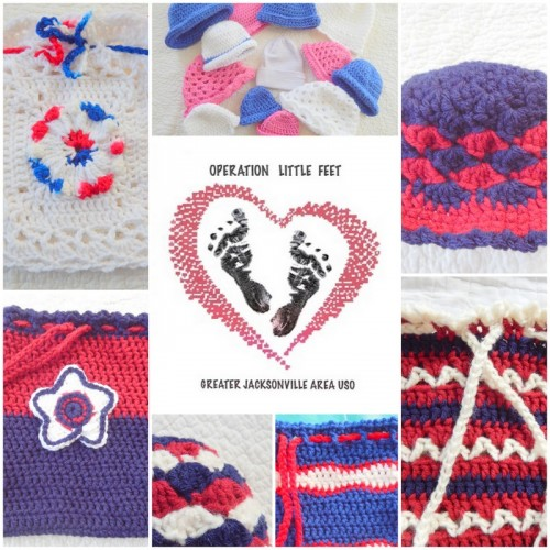 Crochet for a Cause_Operation LITTLE FEET