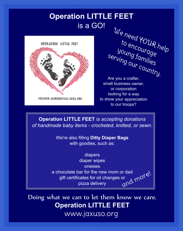 Op Little Feet Poster