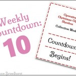 Operation Christmas Child Weekly Countdown Begins: 10!