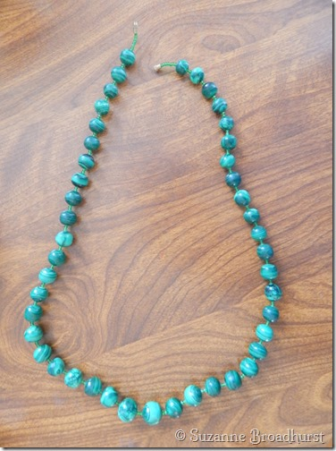 Cameroonian Malachite Necklace