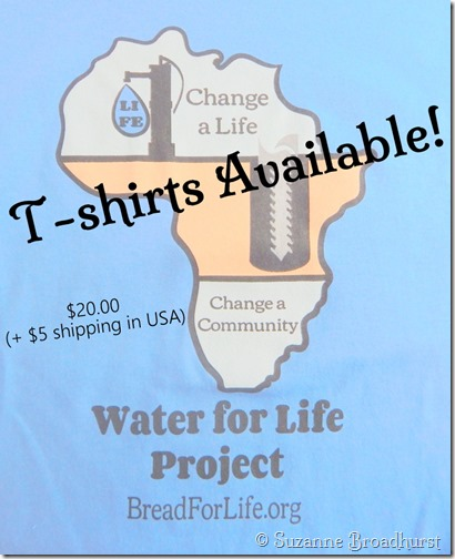 Water for Life Project T-shirts Available