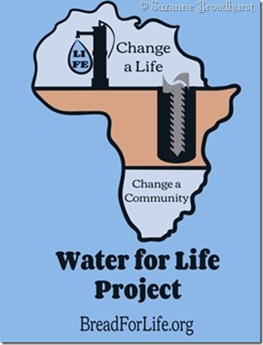 Water for Life T-shirt Artwork