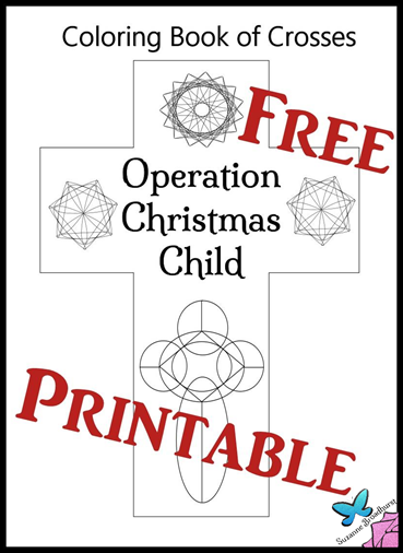 Free Printable_Op Chr Child Coloring Book of Crosses