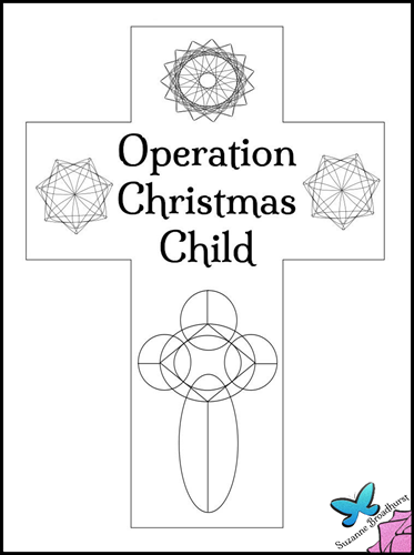 87+ [ All About Me Coloring Page For Operation Christmas ...