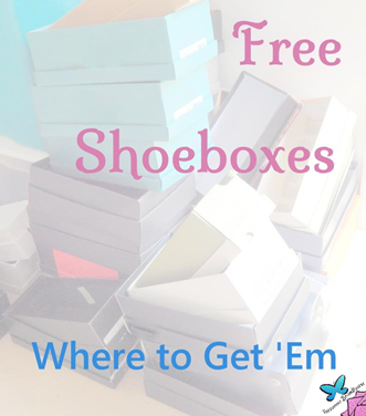 Where to Get Free Shoeboxes