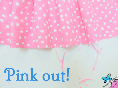 The Cathy Dress_Edge of Lining Pinked