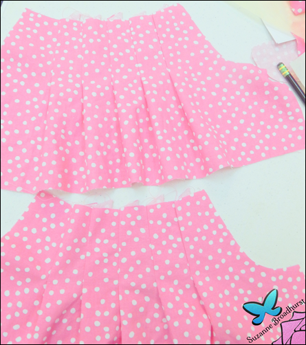 The Cathy Dress_Lining and Dress Pleated