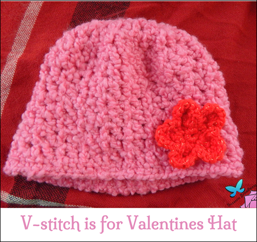 Crochet V Stitch Hat : It?s been awhile since I shared a little pattern love, so I thought ...