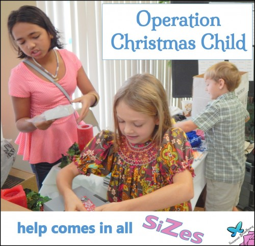 Operation Christmas Child Church Family Help