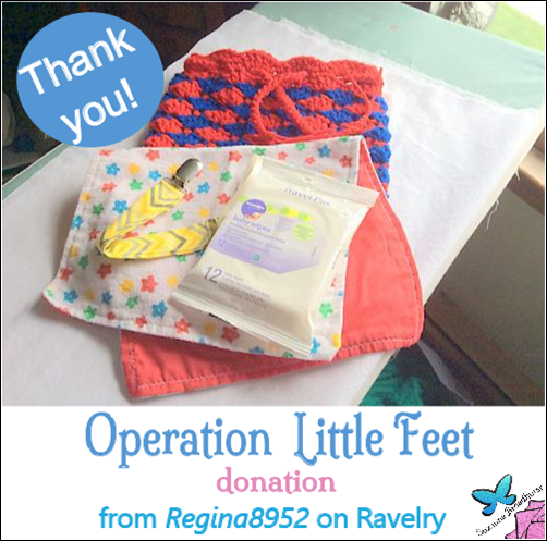 Regina8952 Ravelry Donation to USO2