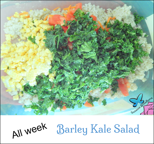 All Week Barley Kale Salad