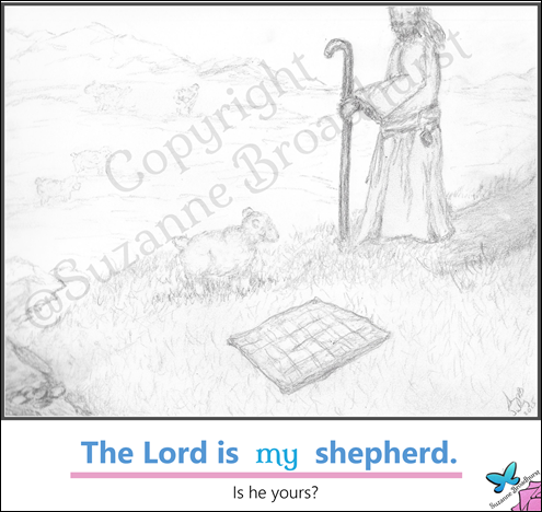 The Lord is My Shepherd Meme