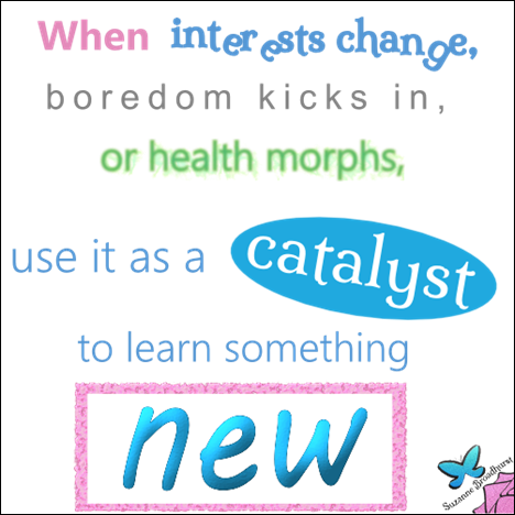 Catalyst to Learn Something New