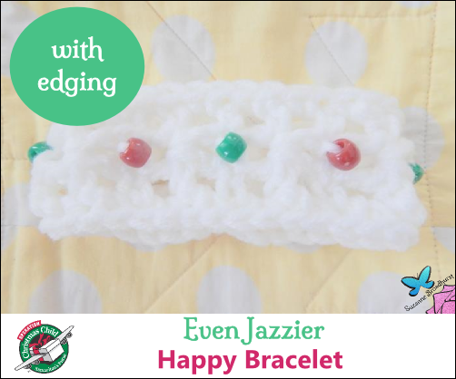 Even Jazzier Happy Bracelet