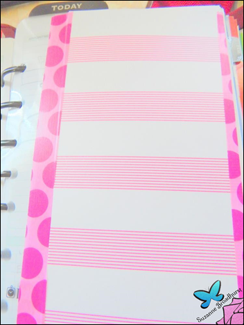 Planner Page-a-Day Curtain Tab Thingie