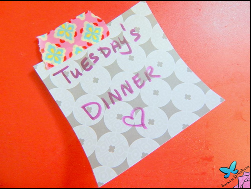 Sticky Note_Tuesday's Dinner