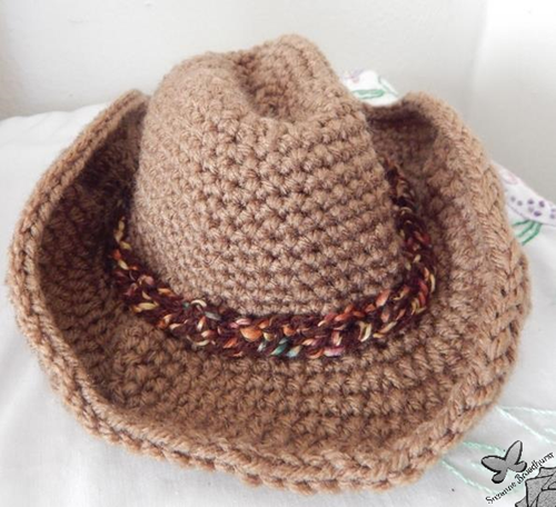 Baby Cowboy Hat in Brown